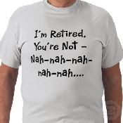 retirement tshirt
